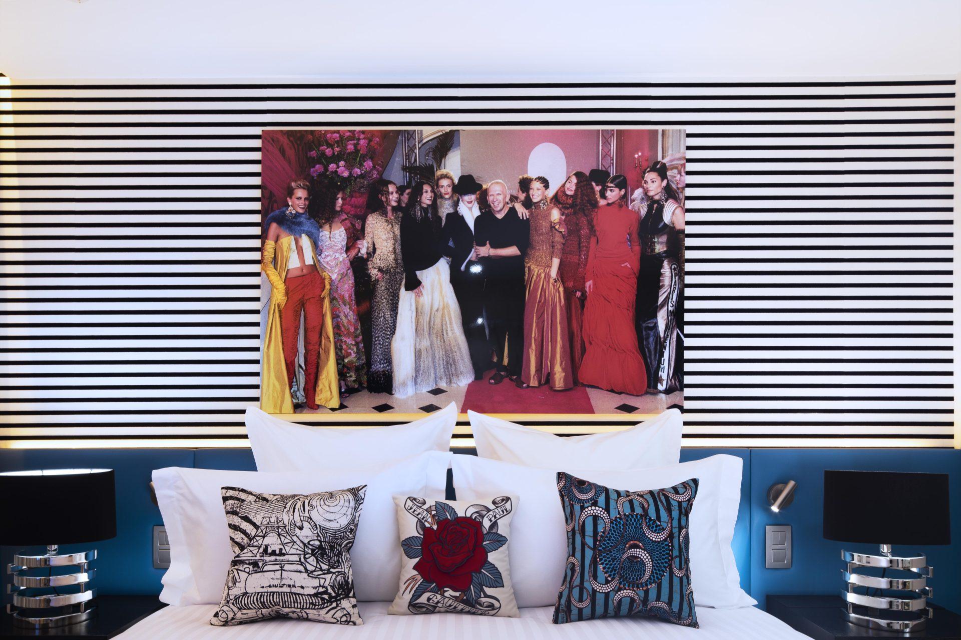 Chambre marinière Stéphanie Coutas Hotel DressCode