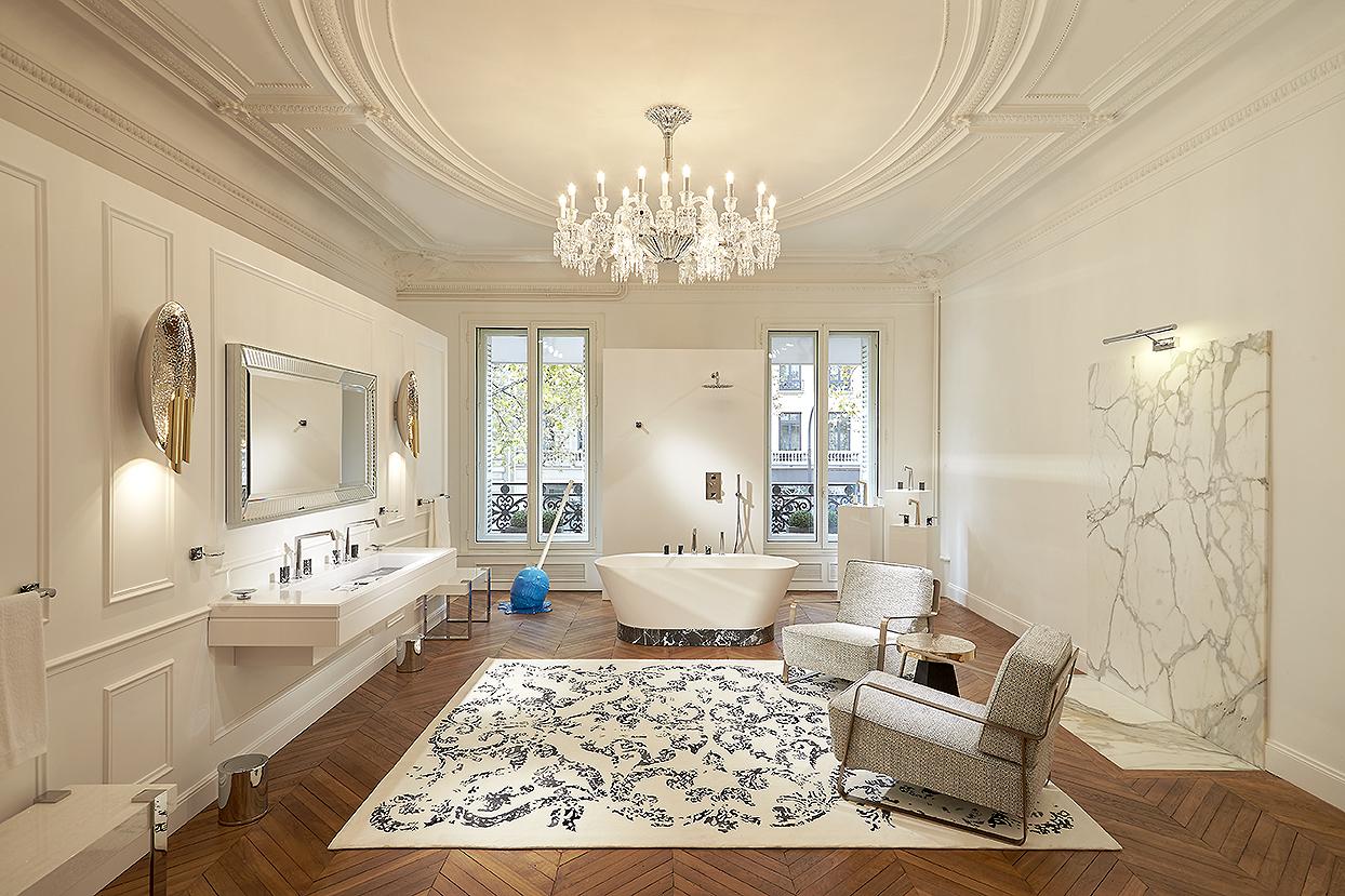 la salle de bain de la parisienne - Coutas