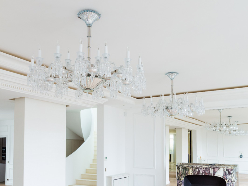 Paris baccarat Chandelier by Stephanie Coutas