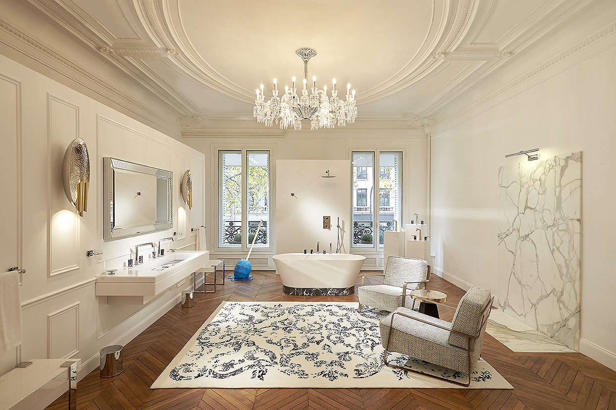 A parisian Bathroom by Stéphanie Coutas